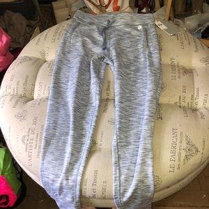 NWT GAPFit gray fleece lined gray joggers size XS